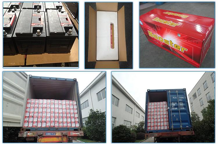 Copper terminal 12v 100ah sealed lead acid battery