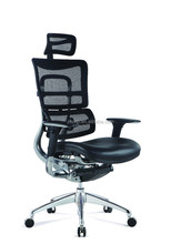 High Back Swivel Lounge Leather Office Chair