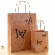 OEM Customize shopping gift promotion luxury satin gift bag