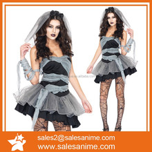 2015 New fashion Europe and America sexy halloween Cosplay Carnival Zombie Costume