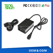 24v5a/12v10a power lead acid battery charger electric scooter 24v with aluminium alloy case and cooling fan