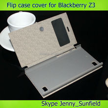 Mobile phone accessories phone case leather flip case for blackberry Z30, for blackberry z30 case flip