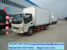 5 ton freezer truck fiberglass truck body mini refrigerator car
