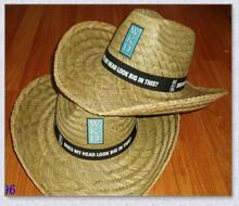 Fashion Design bulk straw cowboy hats cheap
