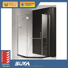 modern shower screen and shower room and shower enclosure harden clear glass
