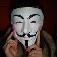 latex horror Movie Theme masks Halloween party V for Vendetta mask