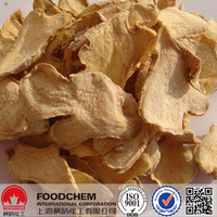 China Wholesale Dried Dehydrated Ginger Flakes/Slice Supplier