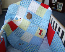 patchwork baby comforter with New European Style--Embroidery and Applique
