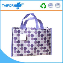 2015 advertising reusable non-woven shopping bag