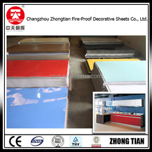 High pressure laminated sheets 4*8natural 1300*2800/hpl sheet/formica laminate sheets
