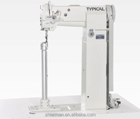 Typical TW5-8365 high post bed lockstitch sewing machine