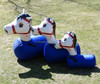 on sale good selling inflatable pony hops, inflatable sport game, inflatable interactive game