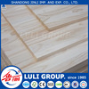 rubberwood finger jointed laminated lumber board for decoration made by LULIGROUP China manufacture since 1985