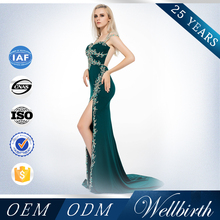 China Factory OEM ODM Supplier Cut Mermaid Evening Dress