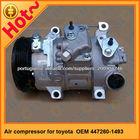 447260-1493 elétrica ac compressores para carros para toyota