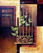 goldfoil panting stretched canvas for painting CT-150