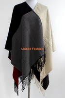 Womens cashmere poncho, knitted poncho,women poncho scarf wholesale