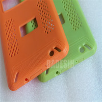 colorful silicon rubber mock up mobile phone cover