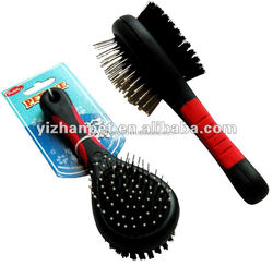 Pet Grooming Tool Double Sides Pet Brush China Supplier