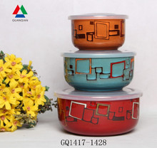 Simple design stoneware bowl ceramic bowl set for bulk