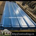 cor revestido telhado galvanizado folha transparente telhas onduladas