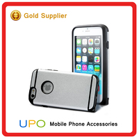 New Arrival Armor Metal Brush Tpu Phone Cases For iphone 6 Shockproof Cover Case