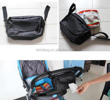 hanging stroller bag removable towel bag wipes bag for baby