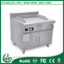 stainless steel induction electric teppanyaki grill