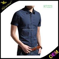 Cotton Cheap Popular pant shirt new style wholesale men dress shirt