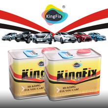KINGFX Brand high gloss metallic white paint