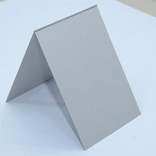 Grey chip board/duplex board grey back/grey paper board