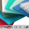 colored tinted manufacturer ge lexan roll panel 6mm 8mm greenhouse roofing polycarbonate hollow sheet