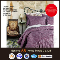 wholesale of 2015 sateen American style cotton bedding set adult