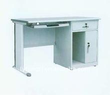 Cheap Simple Design Single Pedestal Executive Metal Computer Table