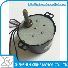 low speed 12V reversible synchronous motor with gearbox