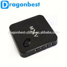 Mxv Amlogic S805 Android Tv Box Quad Core 1G/8G 1.5Ghz Android 4.4 Wifi H.265 Video Decoder Smart Android Media Player