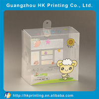 clear PVC packaging box for gifts