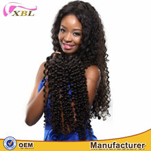 2015 XBL fashion style good quality 7a fast shipping virgin Brazilian Deep wave hair extension