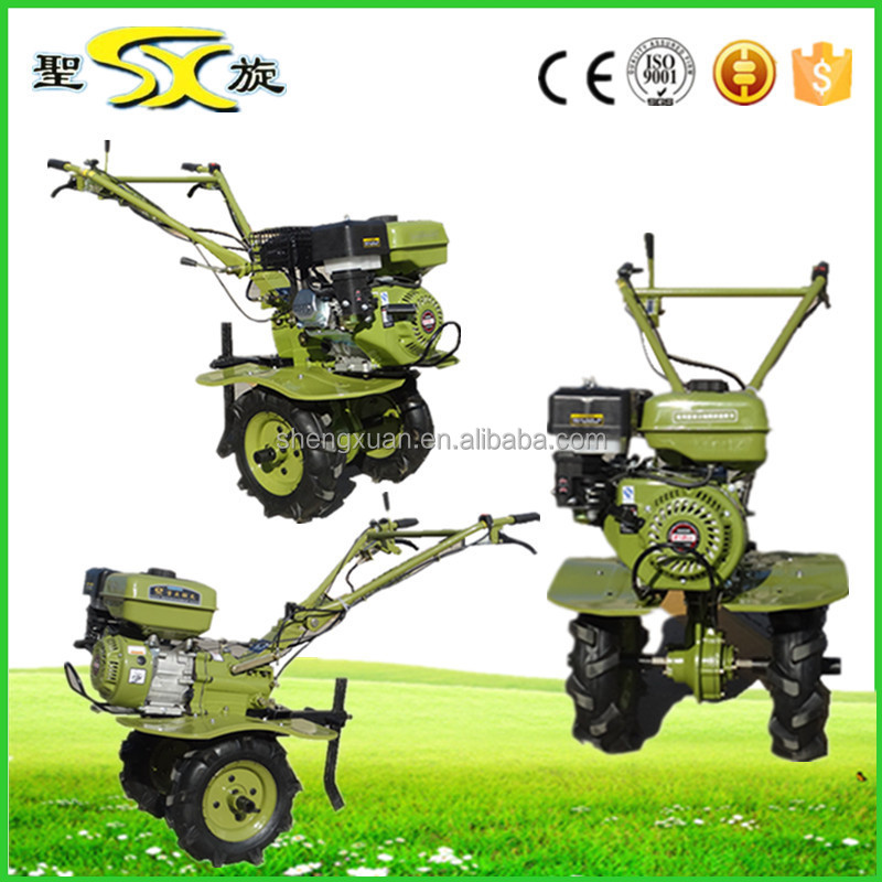 Powerful Tiller Push Garden Tiller Small Field Cultivator