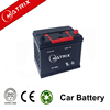 Hot sale 60ah 12V car battery low price