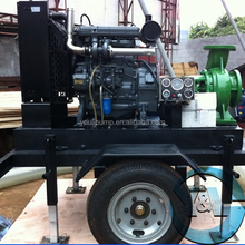 Irrigation Pump With 6 Cylinder Water Cooler Engine