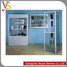 home decorative glass wall display cabinet showcase