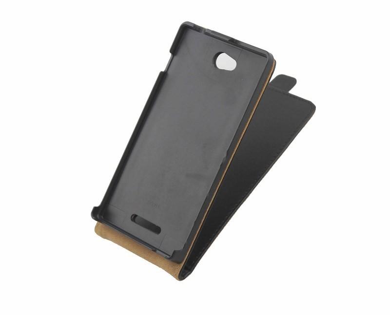 Мобильный Телефон Сумки чехлы для sony xperia c s39h c2305 pu флип кожаный чехол флип случае, деловой стиль