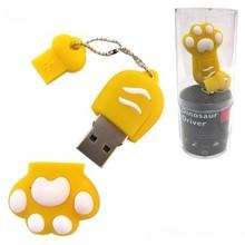 hot selling animal paw shape usb flash drive cheap price