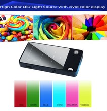 The newest full hd 1080p wifi pocket mini projector mobile phone