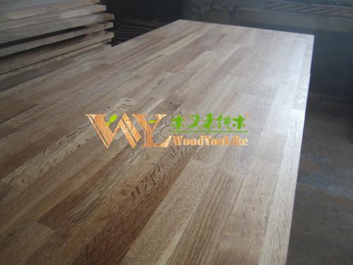 finger joint oak board fjl Wood panel finger joint laminating board oak panel