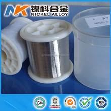 High purity Low resistivity corrosion resistant nickel wire prices