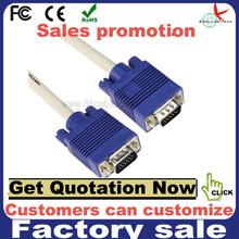 20m blue head vga Monitor PC Cable computer cable
