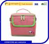 Portabel 6 can beach cooler bag with aluminium foil