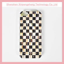 Grid custom design wholesale cell phone cover for iPhone 5 5s case